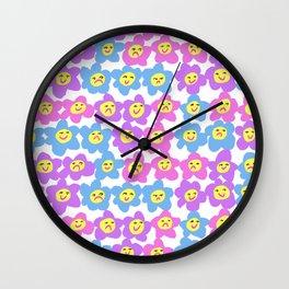 Flower Feelings Wall Clock