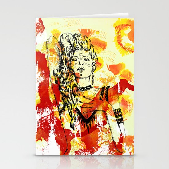 Tribal Beauty 2 Stationery Cards
