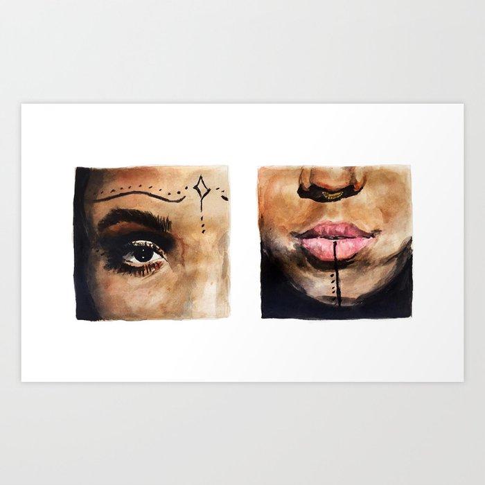 FKA Twigs Art Print