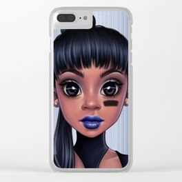 Left Eye Clear iPhone Case