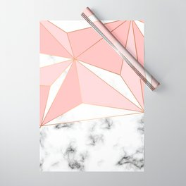 Marble & Geometry 042 Wrapping Paper