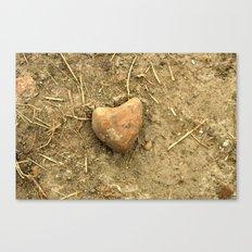 Stony Heart Canvas Print