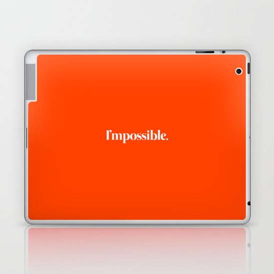 I'mpossible Laptop & iPad Skin