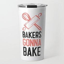 Baking Show Baker Bakery Hobby Baked Gift Travel Mug