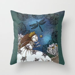 The Golden Ball Throw Pillow