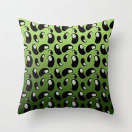 Swamp Monster Throw Pillow