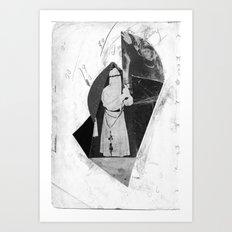 mystic bones Art Print