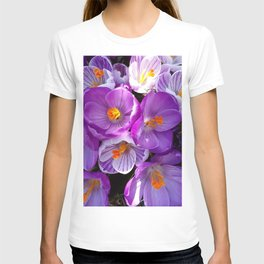 flowering crocuses T-shirt