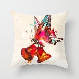 Bttrfly Throw Pillow