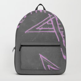 Unholy in Pink Sigil Backpack