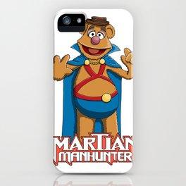 Fozzie Bear the Martian Manhunter iPhone Case