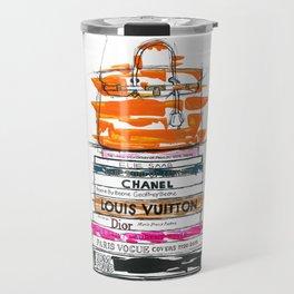 Birkin Bag and Fashion Books Travel Mug