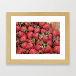 Just Picked Framed Art Print