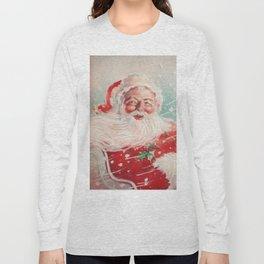 Cute vintage Santa Claus Long Sleeve T-shirt