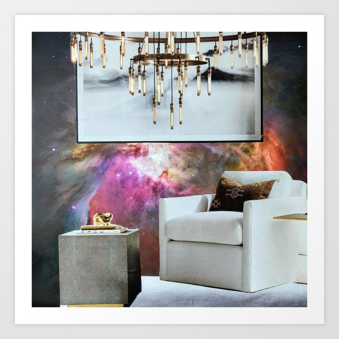 Your Modern Celestial Home I Art Print