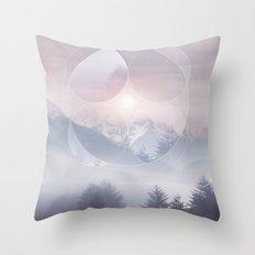 Geometric Vibes 02 Throw Pillow
