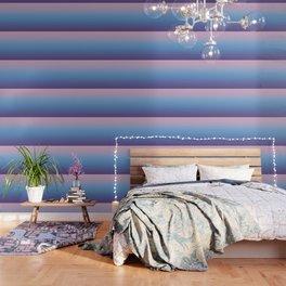 Ombre Pink Blue Ultra Violet Gradient Pattern Wallpaper