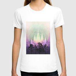 TREES under MAGIC MOUNTAINS VII T-shirt