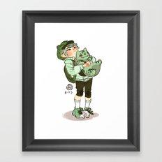 Bulbasaur!  Framed Art Print