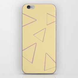Triangle origami ux thinking iPhone Skin