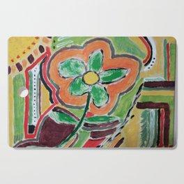 """ the flower "" Cutting Board"