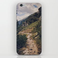 As Far As My Feet Will Carry Me iPhone & iPod Skin