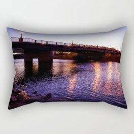 Night River 2 Rectangular Pillow