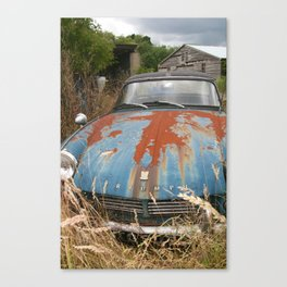Once Loved Triumph Spitfire Canvas Print
