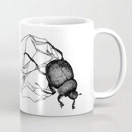 Dung beetle Coffee Mug