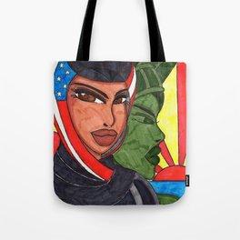 An American Girl Tote Bag