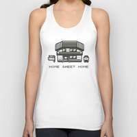 home sweet home Tank Tops featuring Home Sweet Home  by Zeke Tucker