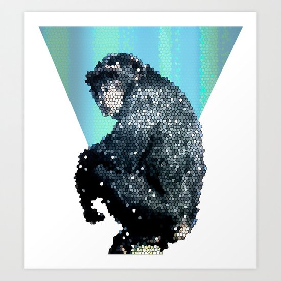Monkey - Monkey Art Print