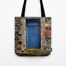 The Blue Door of Ballymascanlon Tote Bag