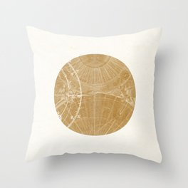 Mercury I Throw Pillow