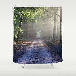 Forest Nature Shower Curtain