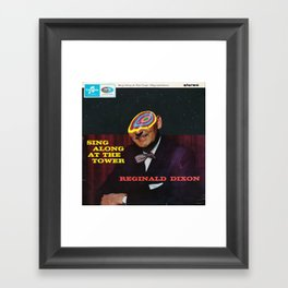 Sing Along At The Tower Framed Art Print