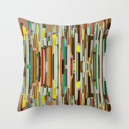Abstract Composition 635 Throw Pillow