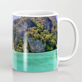 Emerald Water in Phi Phi island Coffee Mug