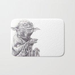 Yoda sketch Bath Mat