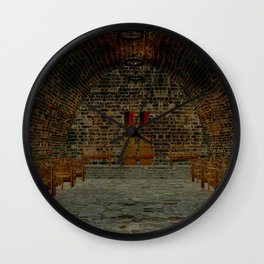 Medival Tavern Wall Clock