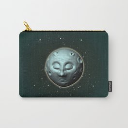 Moon over starry sky Carry-All Pouch