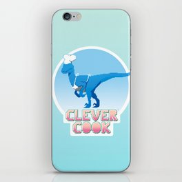 Clever Cook iPhone Skin