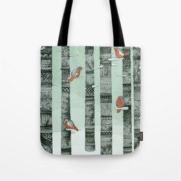 January Birds Tote Bag