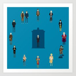 WHAT TIMELORD IS IT? Art Print
