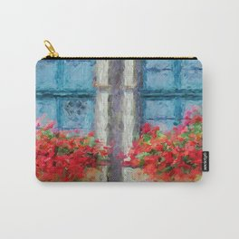 Windows painted Carry-All Pouch