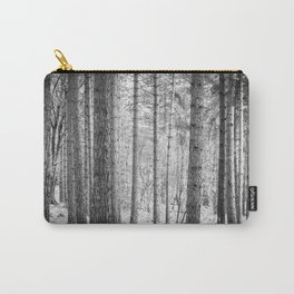 Wilderness Wood Monochrome Carry-All Pouch