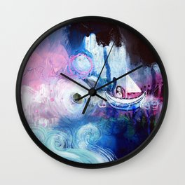 Embrace The Journey Wall Clock