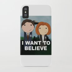 I Want to Believe iPhone X Slim Case