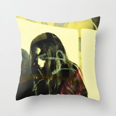 Graffiti Guerilla Throw Pillow
