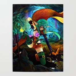 Colorful Archer Poster